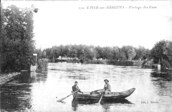 partage eaux vaucluse